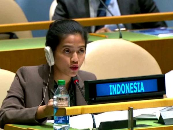 Tegas Bela Kedaulatan RI di Sidang PBB, Sosok Diplomat Muda Nara Rakhmatia Curi Perhatian Dunia