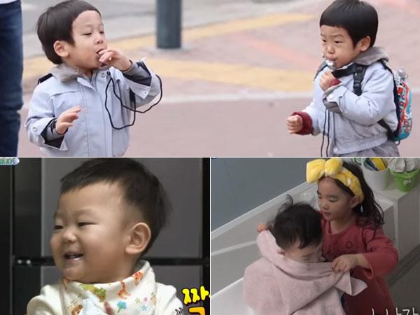 Jadi Polisi Hingga Perlakuan Manis, Pintarnya Para Anak Seleb Korea Ini Di 'Superman Returns'