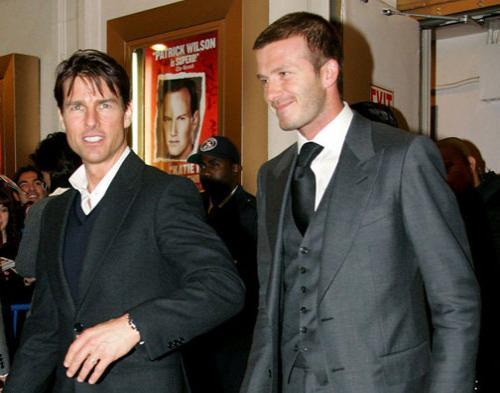 Tom Cruise Ajak Beckham Main Film Bareng