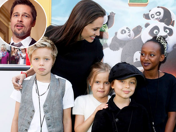 Diam-diam Brad Pitt Sempat Temui Angelina Jolie dan Anaknya di Kamboja?