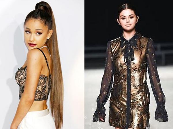 Ariana Grande Geser Posisi Selena Gomez sebagai 'Ratu' di Instagram
