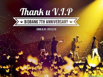 Rayakan 7 Tahun Debut, Big Bang Ucapkan Terima Kasih kepada VIP!