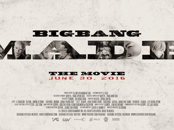 Bersiap VIP Indonesia, 'Big Bang MADE The Movie' Segera Hadir di Tanah Air!