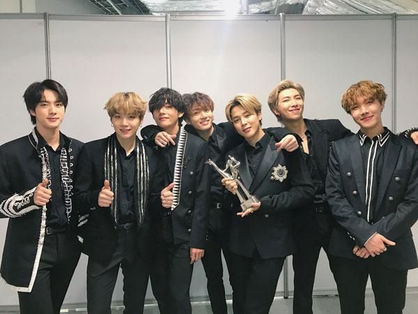 BTS Jadi Artis Pertama yang Raih 2 Daesang Setahun dalam Sejarah Golden Disc Awards