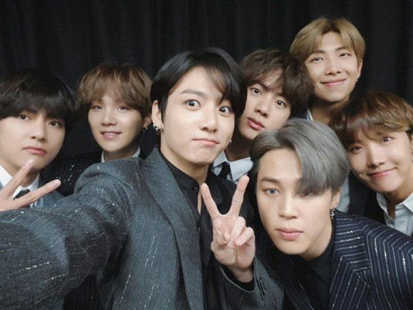 Congrats! BTS Raih 3 Penghargaan di MTV EMA 2019
