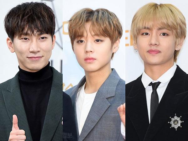Eunkwang BTOB dan V BTS Bicara Soal Main Games Bareng Jihoon Wanna One