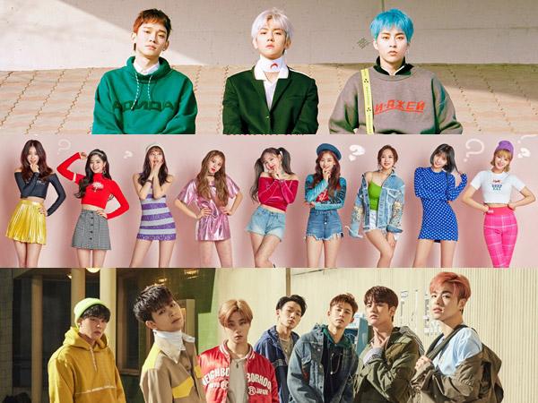EXO-CBX, TWICE, iKON Jadi Idola K-Pop 'Batch 2' Raih Sertifikat Platinum Baru Gaon Chart