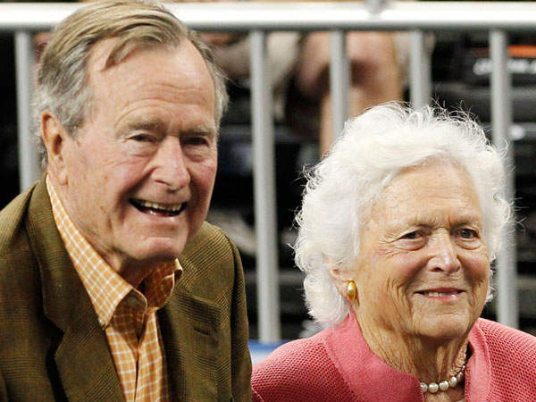 Mantan Presiden AS Tertua yang Masih Hidup, Bush Sr. dan Istri Dilaporkan Masuk Rumah Sakit