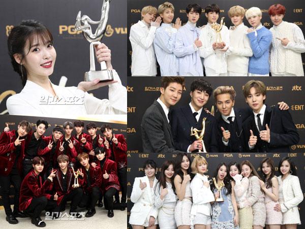 IU Raih Daesang, Berikut Daftar Pemenang '32nd Golden Disc Awards' Hari Pertama