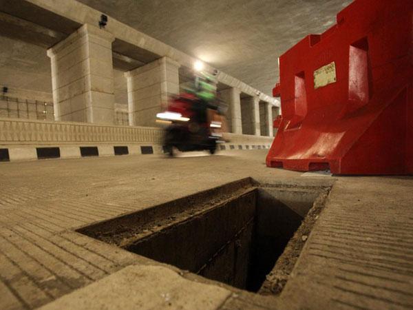 Sandiaga Uno Soal Pencurian Tutup Gorong-gorong Underpass Mampang: Terkutuk!
