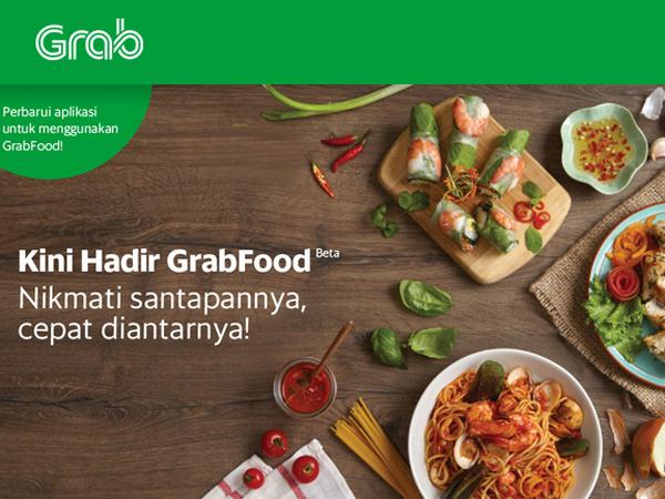Makin Bersaing dengan Go-Jek, Sekarang Grab Punya Layanan Pesan Antar Makanan