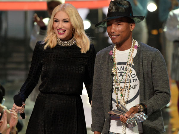 Diduga Langgar Hak Cipta, Gwen Stefani dan Pharrell Williams Dituntut!
