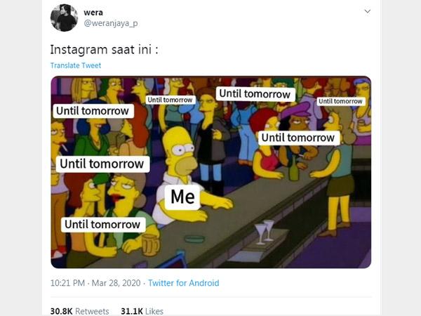 Apa Sih Tren 'Until Tomorrow' di Instagram yang Bikin Warga Twitter Bingung?