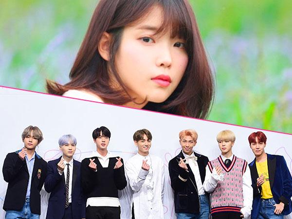 Rilis Bareng, Lagu Baru IU dan BTS Bersaing Ketat di Berbagai Tangga Lagu Korea!