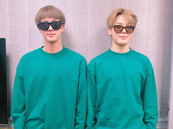Jin dan Jimin Ungkap Isi Lemari Es BTS yang Campur Aduk