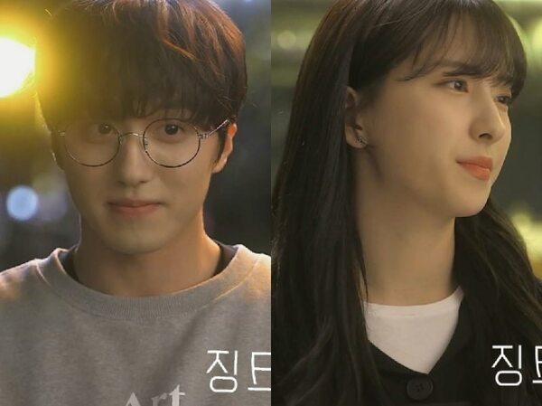 Potret Chani SF9 dan Eunseo WJSN di Web Drama 'JINX'
