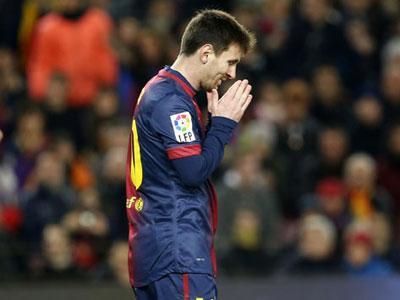 Inilah Alasan Messi Tak Diturunkan