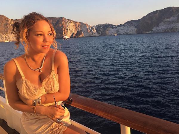 Liburan di Italia, Ini Permintaan Aneh Mariah Carey di Sebuah Restoran