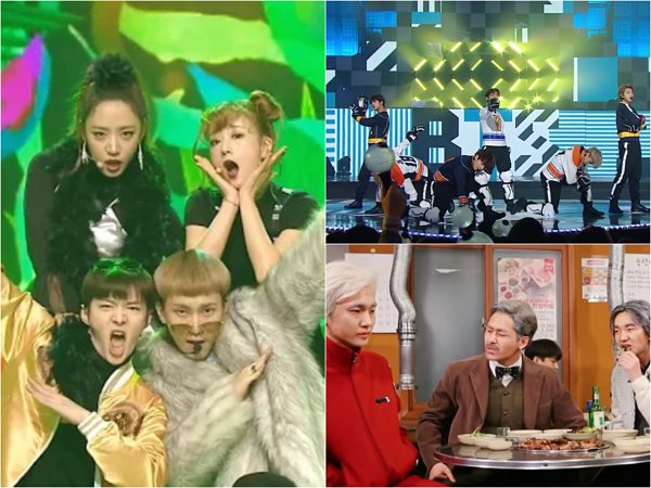 Bertema 'Flashback', Intip Penampilan Special Para Idola K-pop di Panggung 'MBC Gayo Daejun 2016'!