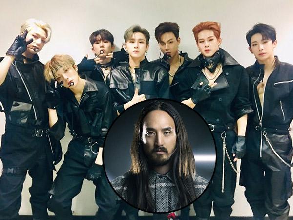 Monsta X Rilis Music Video Lagu Kolaborasi Bareng Steve Aoki 'Play It Cool' dalam Bahasa Inggris