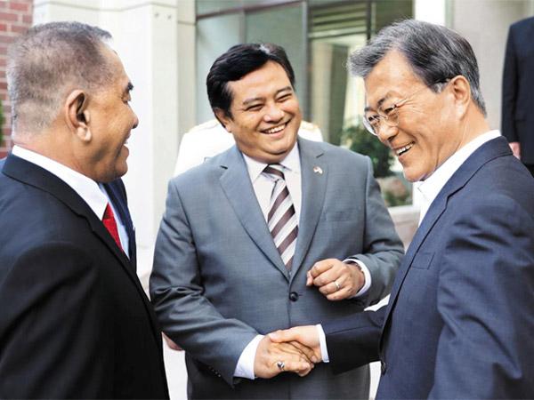 Presiden Korsel Diprotes Karena Lebih Pilih Bertemu Menteri Indonesia Dibanding Trump, Alasannya?