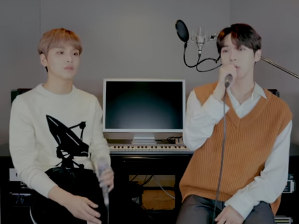 Sukses Bikin Baper, Doyoung dan Haechan NCT Rilis Full Cover Lagu Asal Indonesia