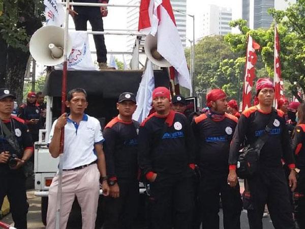 Pendukung Prabowo Sempat Nyanyikan Lagu #2019GantiPresiden di Silang Monas?
