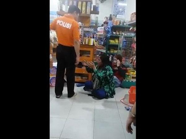 Nasib Polisi yang Tendang dan Pukul Ibu-Anak Pencuri di Minimarket