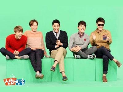 Shinhwa Datangi Penampungan Anjing Untuk Shinhwa Broadcast