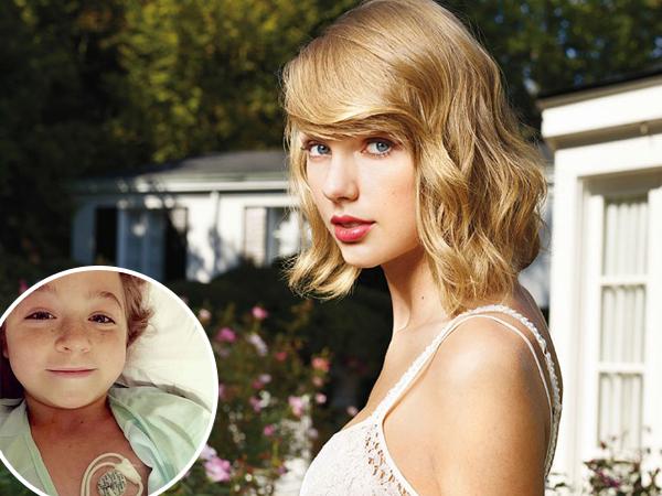 Taylor Swift Sumbangkan Rp. 600 Juta untuk Penderita Leukemia yang Batal Nonton Konsernya