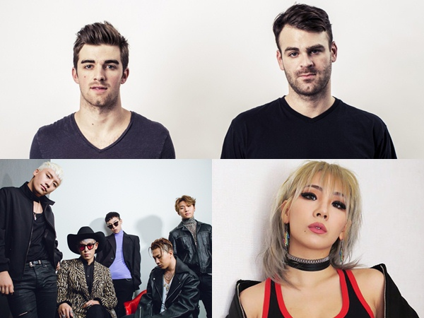 Favoritkan Big Bang dan CL, The Chainsmokers Buka Kesempatan Kolaborasi