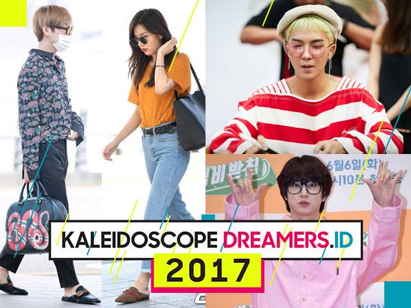 Intip Lagi Tren Fashion yang Digandrungi Idola K-Pop Selama 2017