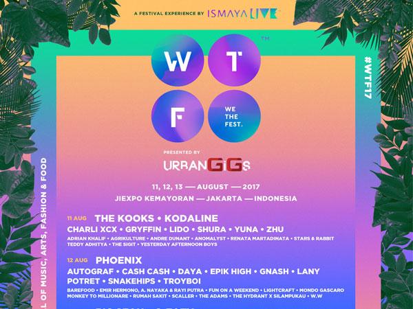 Inilah Line-up Ketiga dan Line-up Harian We The Fest 2017!