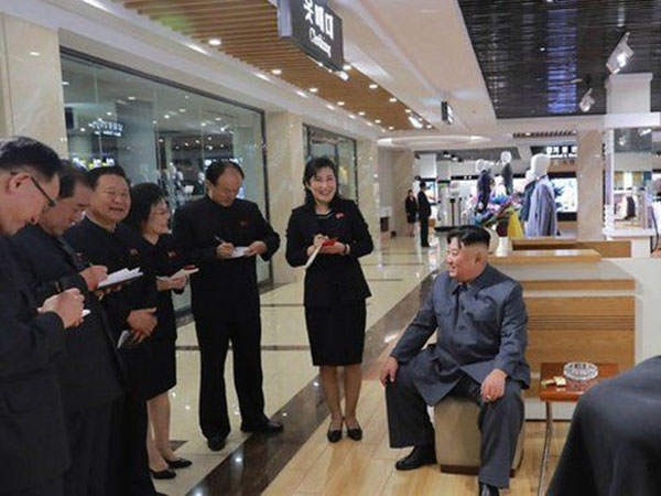 Mengintip Penampilan Mal Baru di Korea Utara yang Sudah Diresmikan Kim Jong Un