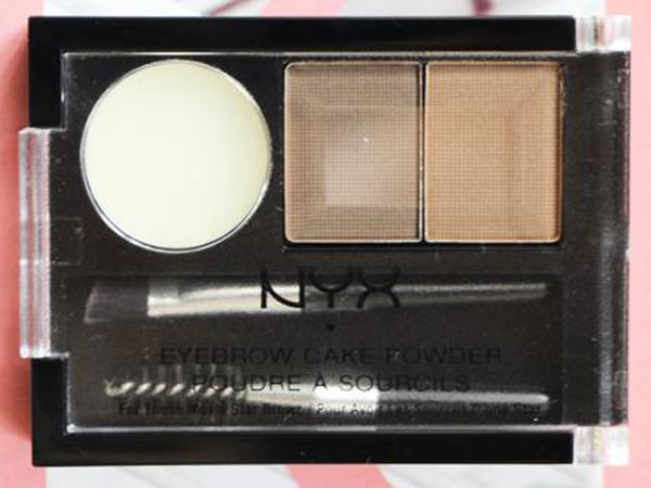 Review : NYX Eyebrow Cake Powder