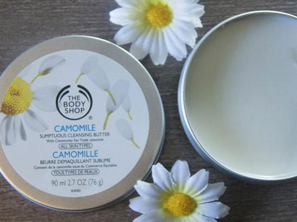Review : The Body Shop Camomile Sumptuous Cleansing Butter