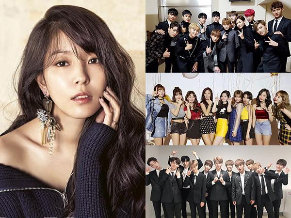 Member Seventeen Hingga Wanna One Dikonfirmasi Akan Kolaborasi Bareng BoA di MAMA 2017!