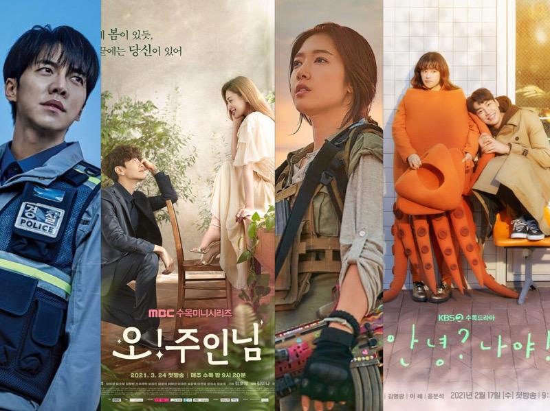 Rating Drama Korea Rabu - Kamis: Oh My Ladylord Mulai Rendah, Mouse Turun Naik