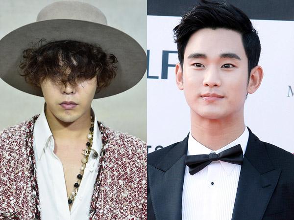 G-Dragon dan Kim Soo Hyun Bersaing Ketat dalam Nominasi 'Style Icon Awards 2014'