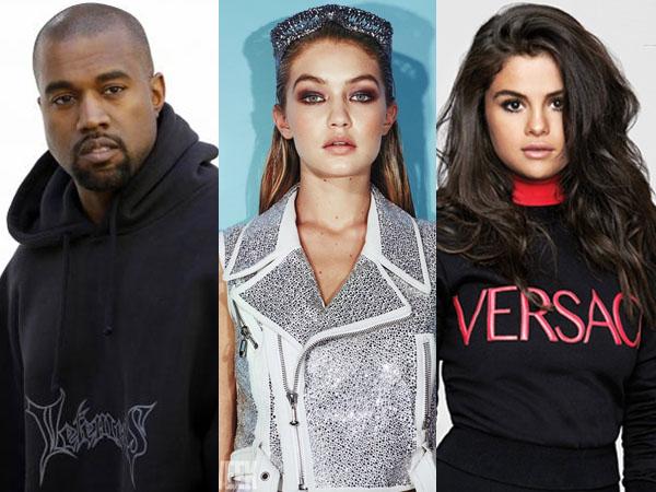 Kanye West Ejek Taylor Swift, Ini Bentuk Dukungan Gigi Hadid dan Selena Gomez