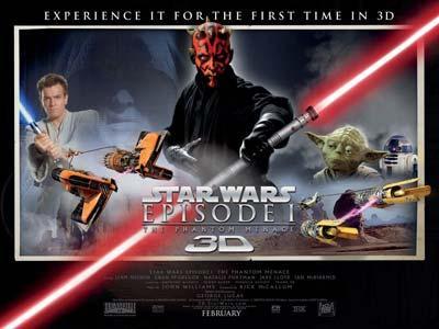 Film Star Wars 2 dan 3 Versi 3D Siap Dirilis