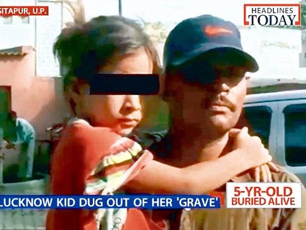 Teganya, Gadis Ini Dikubur Hidup-hidup Oleh Pamannya Sendiri!