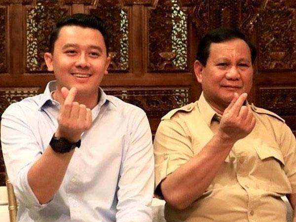 Potret Dhani Wirianata, Ajudan Prabowo yang Bikin Netizen Salah Fokus