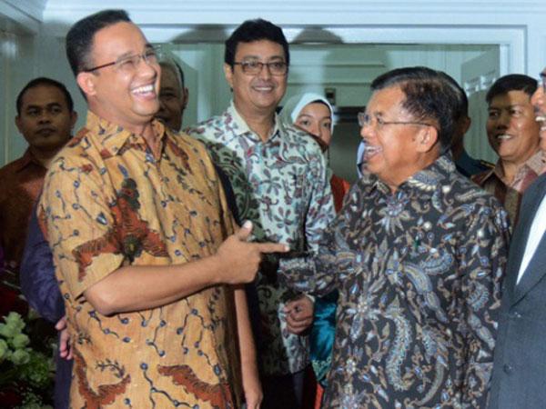 Diajak JK Semobil Bareng, Langkah Jokowi Gaet Anies Baswedan Jadi Cawapres 2019?