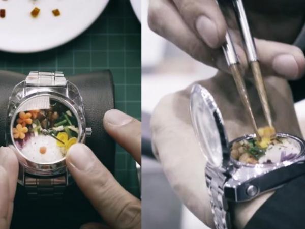 Bento Dalam Jam Tangan, Inovasi Dari Jepang Yang Memancing Tanggapan Kocak Dari Warganet