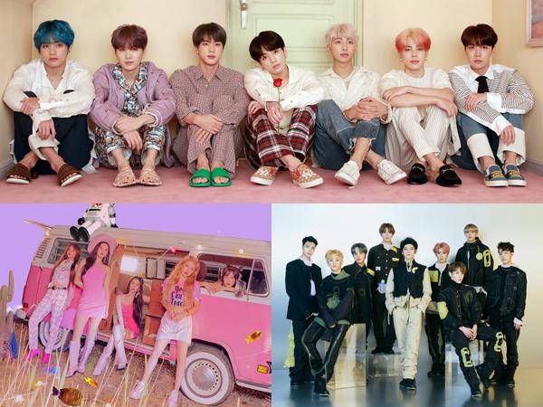 BTS Tempati Top 4, Red Velvet, NCT 127, dan Lainnya Bertahan di Chart Billboard World Albums