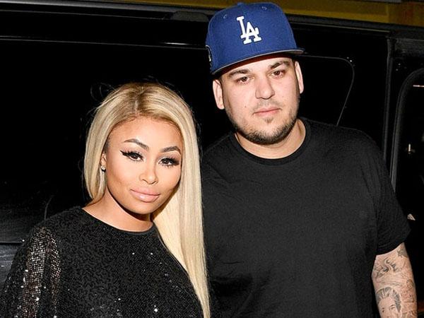 Hubungan Asmara Tak Direstui Keluarga, Rob Kardashian Nekat Melamar Blac Chyna?