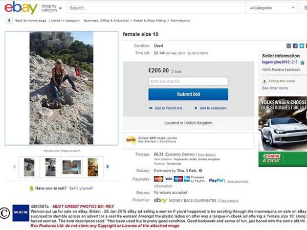 Demi Dapatkan Pria yang Tepat, Wanita Ini Lelang Dirinya di eBay!