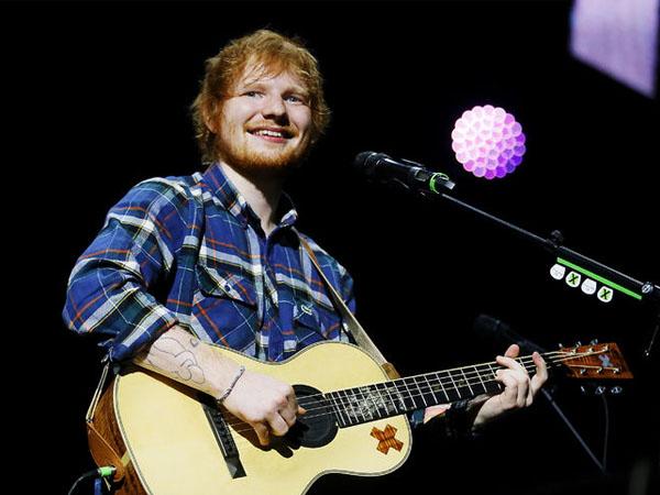 Ed Sheeran Kapok Pamer Kemesraan dengan Kekasih Di Depan Publik, Apa Alasannya?