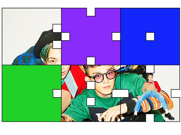 Detail Lagu Terungkap, EXO-CBX Ajak Fans Intip Wajah Membernya di Balik Puzzle Colorful